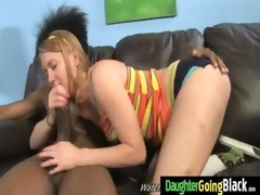 young daughter gets pounded by big black rod 5