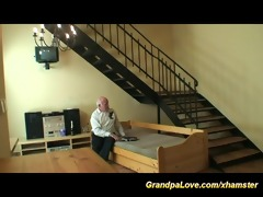 horny grand-dad in love
