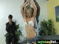 young daughter with nice wazoo fucked by a black