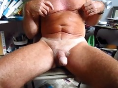 grandpa handles his 75 year old circumcised ramrod