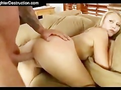 young girl monsterfucked in her face hole and