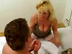 very horny mother caught her son reading porn