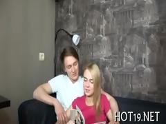 gal plays with jock