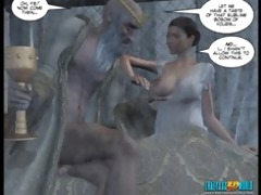 3d comic: tryst 1