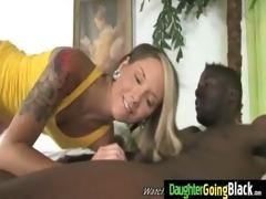 tight juvenile teen takes large dark pecker 3