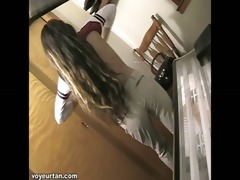 watch diminutive teen petite alisha receive