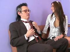delightful anal invasion with teacher