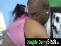 college slut daughter banged by a darksome cock 6