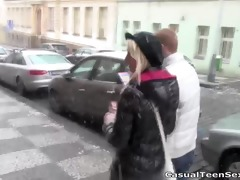 old trick works on young pussy