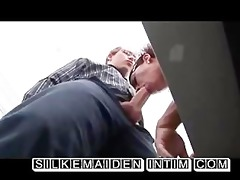 secretary silke maiden gets a a-hole fuck