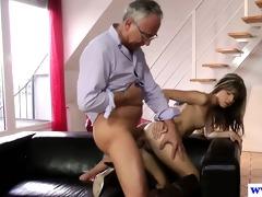 juvenile european whore fucks old mans dick