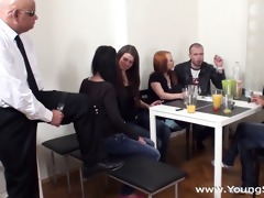 young sex parties - sex party with mature