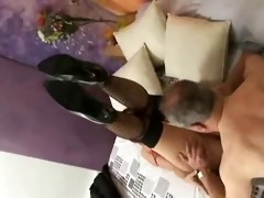 he must have cash to get to fuck her !