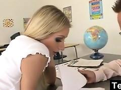 teacher fucks teen student