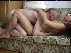 old guy fucks young chick russian cumshots swallow