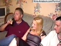 clairs first amateur gangbang with mature guys