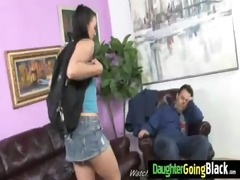 youthful girl makes love with black guy 2