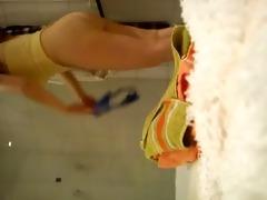 tetona espiada en la ducha