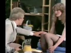 french maid 3some cumshots