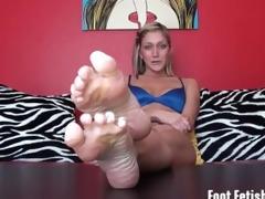 bratty hot step-sister foot humiliation