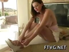 fake penis in her juicy holes