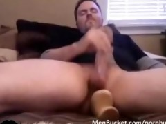 dilettante dudes in a homemade jerking off