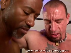 a dad likes it is dark and white bareback