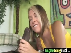 juvenile daughter receives pounded by big black