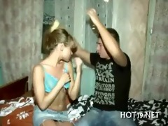 nice bang with legal age teenager beauty
