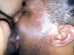 daddy drinking&lickin my wet pussy