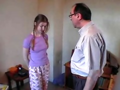 dad &; ally spank pretty daughter xlx
