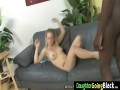 youthful daughter with nice a-hole screwed by a