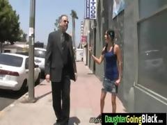 watch my daughter going on huge black dick 14