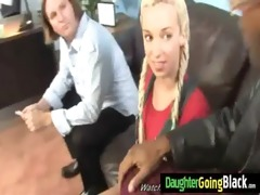 my daughter receives fucked by monster black dude