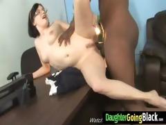 tight juvenile teen takes large black pounder 29