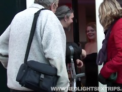 senior pair fucking a young willing hooker