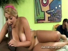 big stacked teen jessi stone takes huge darksome