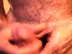 50-year-old masturbation jizz flow 2