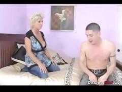 breasty mother fucks sons friend