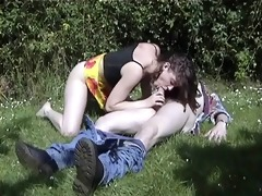 french daughters ally and mother outdoor