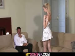 lovely young blonde falls for her bf&#039 s