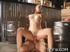 hardcore with hawt chick