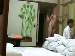 japanese housewife flashing the tv repairman