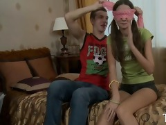 shy beautiful legal age teenager goes wild with