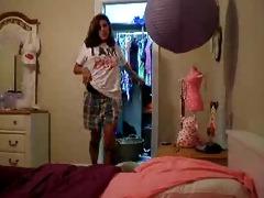 my horny sister 19y self tape for boyfriend