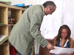 delighting horny teachers