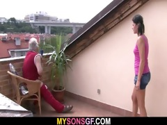 slutty dad bangs his son&#039 s gf