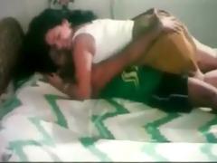 bro pressing sister ass and kissing