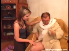 natalli fucking an ugly old stud - coffee for the