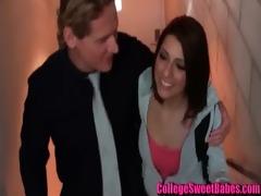 college girl meets sugar dad -